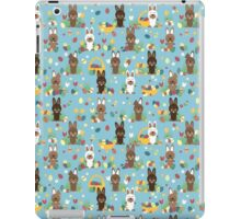 Easter bunnies iPad Case/Skin