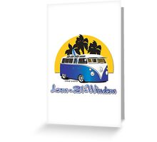 Low 21 Window Splitty Greeting Card