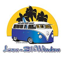 Low 21 Window Splitty Photographic Print