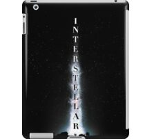 Interstellar – Liftoff Text iPad Case/Skin
