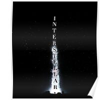 Interstellar – Liftoff Text Poster