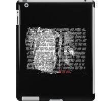 Bray Wyatt - The End iPad Case/Skin