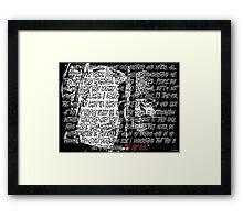 Bray Wyatt - The End Framed Print