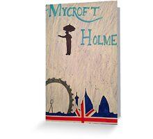 Mycroft Poppins Greeting Card
