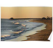 """California Beach"" Poster"