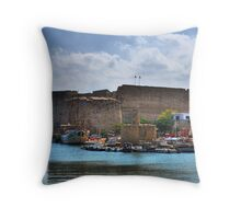 Kyrenia Castle Throw Pillow