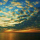 Sunrise over Felixstowe by karen Bradshaw
