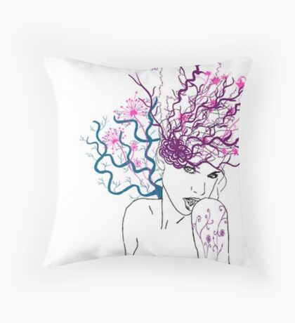 Fruits of the Sea Throw Pillow