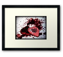 *I Could Kill For A Chocolate!* Framed Print