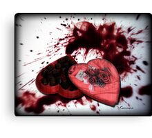 *I Could Kill For A Chocolate!* Canvas Print