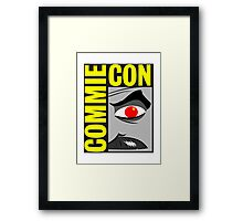 Commie Con Framed Print
