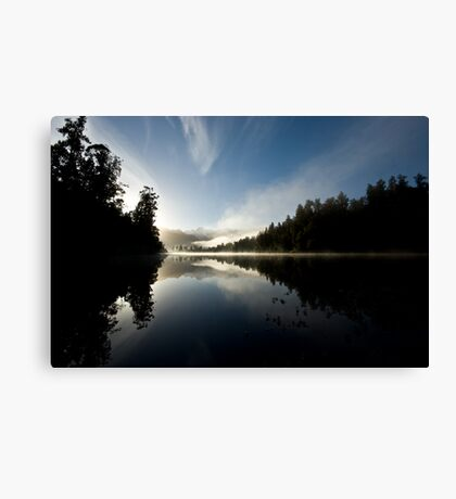 mirror lake. Canvas Print