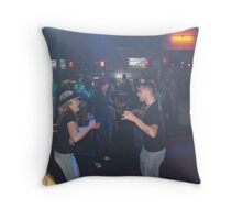 Dance Floor Throw Pillow
