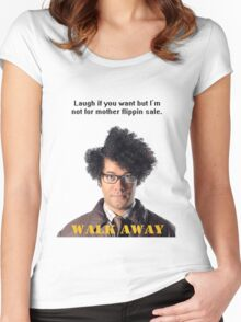 Maurice Moss The IT Crowd Women's Fitted Scoop T-Shirt