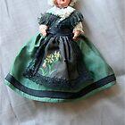 Irish doll by Maggie Hegarty