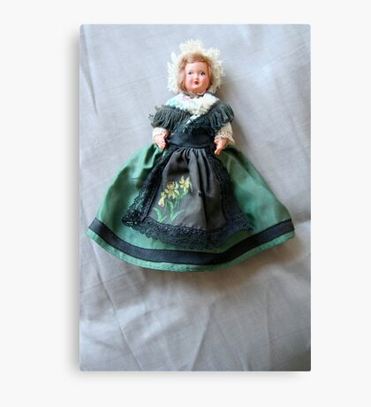 Irish doll Canvas Print