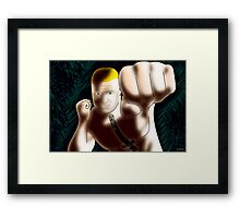 Brock Lesnar - The Beast Framed Print
