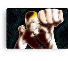 Brock Lesnar - The Beast Canvas Print