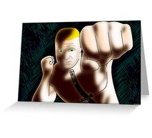 Brock Lesnar - The Beast Greeting Card