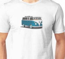 VW Bus T2 Turkis  Unisex T-Shirt