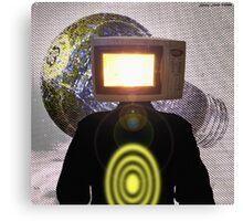 Planet Magnetron (çΩç) Born Of Microwaving Canvas Print