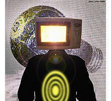 Planet Magnetron (çΩç) Born Of Microwaving Photographic Print