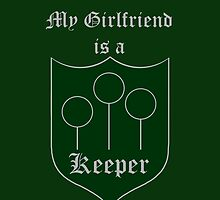 My Girlfriend is a Keeper - Slytherin by OddFiction