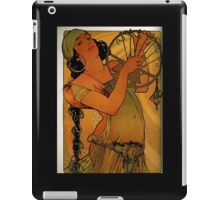 'Solome' by Alphonse Mucha (Reproduction) iPad Case/Skin