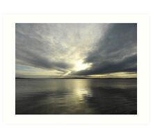 Where Water And Sky Meet................Ireland Art Print