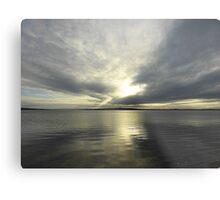 Where Water And Sky Meet................Ireland Metal Print