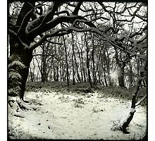 Snow Arch Photographic Print