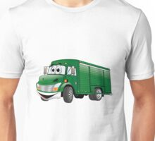 Green  Beverage Truck Cartoon Unisex T-Shirt