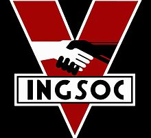 1984 Ingsoc Logo by VicCreatures
