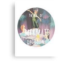 Mermaid Lagoon Metal Print