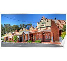 Australian Country Town, Ganmain, NSW (HDR) Poster