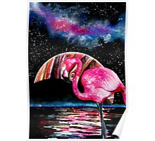 ✻Pink Flamingo from Jupter✻ Poster