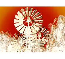 Windmills of My Mind Photographic Print