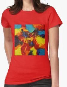 """Audacity No.3"" original artwork by Laura Tozer Womens Fitted T-Shirt"
