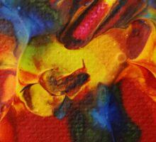 """""""Audacity No.3"""" original artwork by Laura Tozer Sticker"""