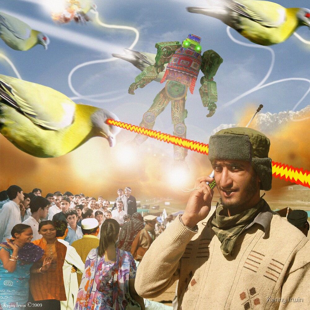 Over & Out, We Are Under Attack: Launch The Karachi Kickbots by Kenny Irwin