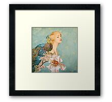 Like A Garden from The Sea Framed Print