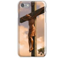 On The Cross He Died For You iPhone Case/Skin
