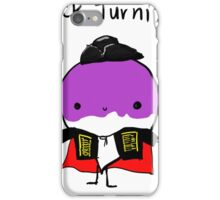 Dick turnip iPhone Case/Skin