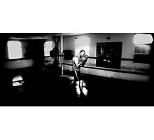 SHADOW BOXING Photographic Print