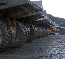 Mining in Tasmania by Rustas
