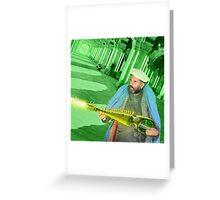 Pathan Electrodynamic Sitar Power Greeting Card