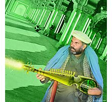 Pathan Electrodynamic Sitar Power Photographic Print