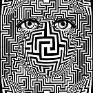 Distorted Vision Eyes Maze by Zehda
