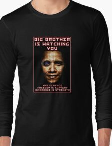 Big Brother Is Watching Long Sleeve T-Shirt
