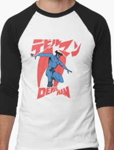 Devilman Old School Men's Baseball ¾ T-Shirt